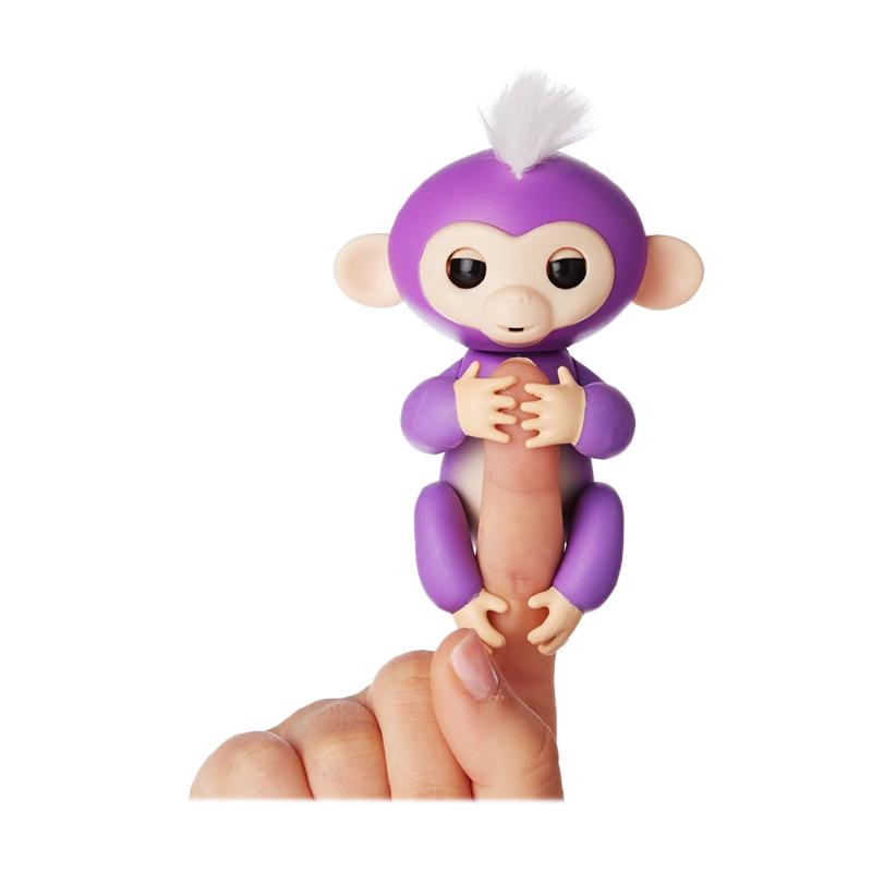 Wowwee Fingerlings Interactive Smart Baby Monkey Pet Toys Mainan Anak - Mia