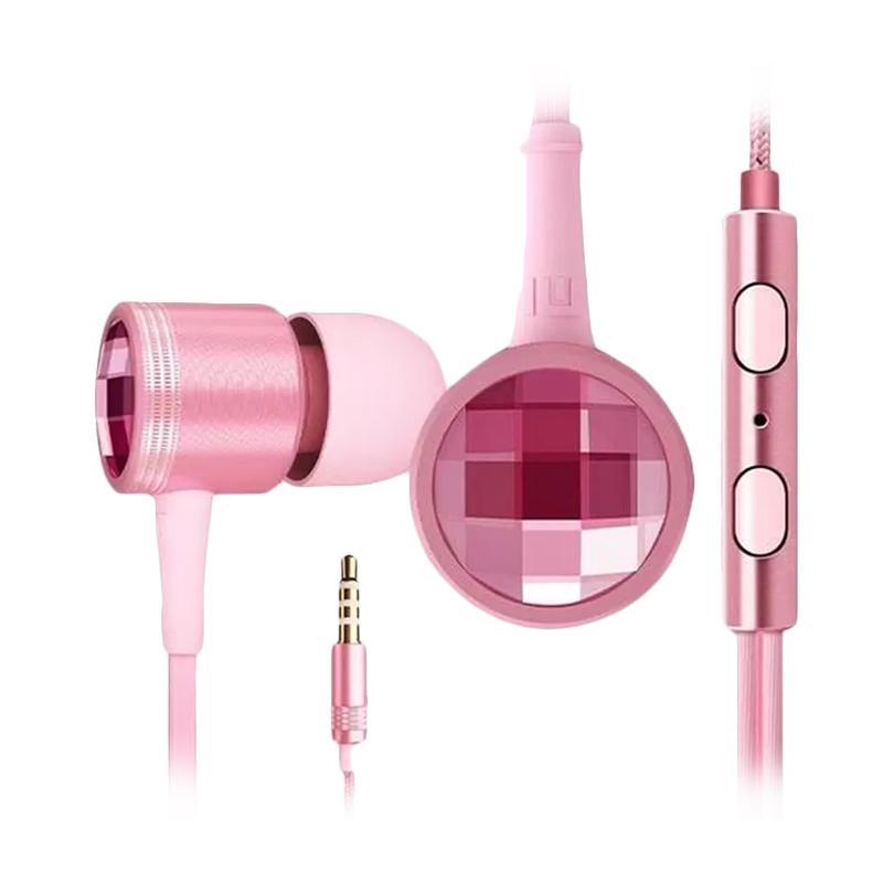 harga Xiaomi Piston Mi 2nd Generation Swarovski Edition Headset - Pink Blibli.com