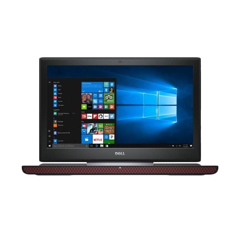 DELL Pandora 15-7567 Gaming Notebook - Black [8GB/ 1TB/ Win10/ i7-7700HQ/ GTX1050Ti-4GB/ 15.6 Inch FHD]