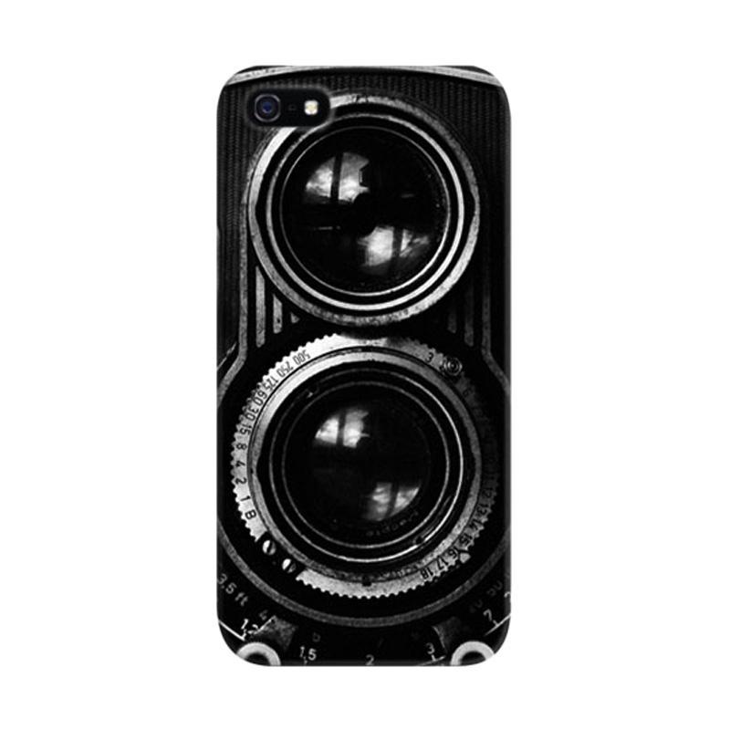 Indocustomcase Vintage Old Camera 2 Custom Hardcase Casing for iPhone 5/5S/SE