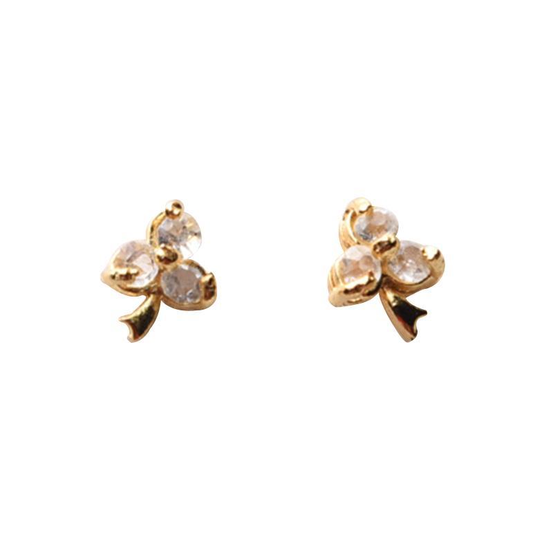 1901 Jewelry GW.3397.HR50 Grape Studs 3397 Anting - Gold [Lapis Emas 24K]