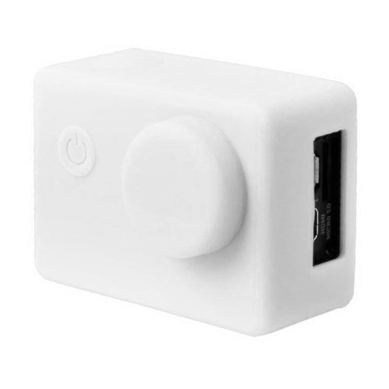 Brica B-PRO Alpha Edition AE Action Camera Silicone Case and Lens Cap - Putih