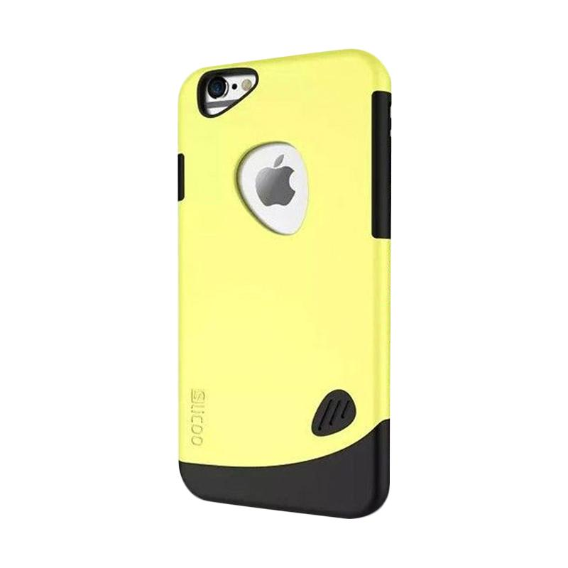 KIM Slicoo Frosted Side Hardcase Casing for Apple iPhone 5/5S/5SE - Yellow