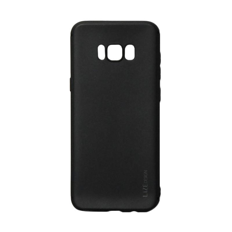 Lize Candy Case Style Softshell Softcase Casing for Samsung Galaxy S8 Plus - Black