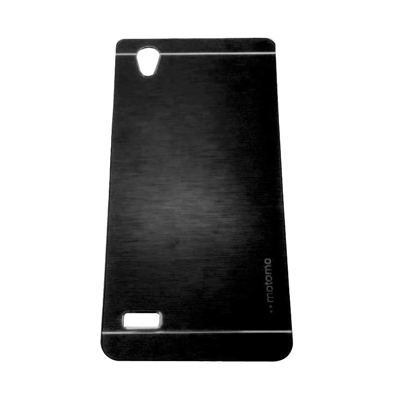 Motomo Metal Hardcase Backcase Casing for Oppo Mirror 5 or A51T - Black
