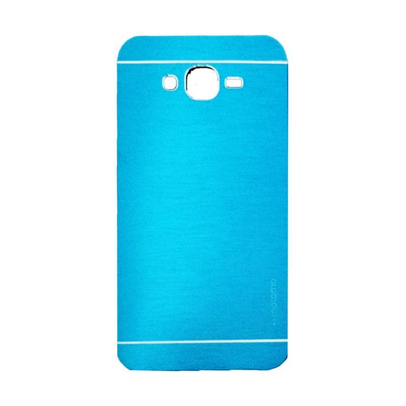 Motomo Metal Hardcase Casing for Samsung Galaxy A3 or A300F - Sky Blue