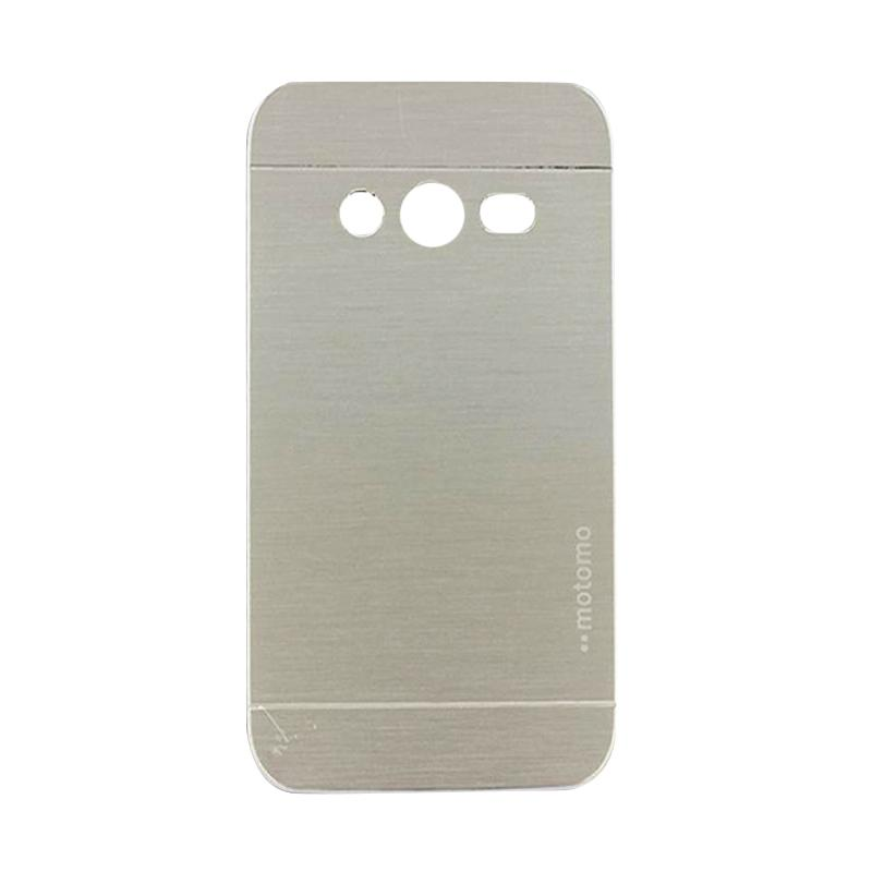 Motomo Metal Hardcase Casing for Samsung Galaxy Ace 4 or G313 - Silver