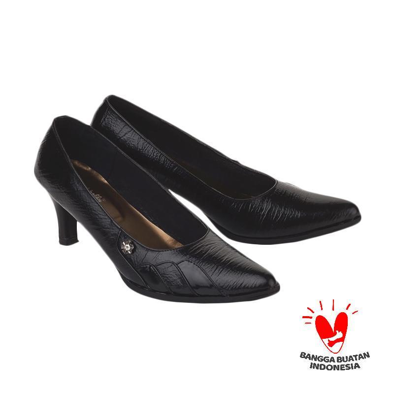 Blackkelly LDX 752 FOLSENINE Sepatu Formal Mid Low Heels Wanita