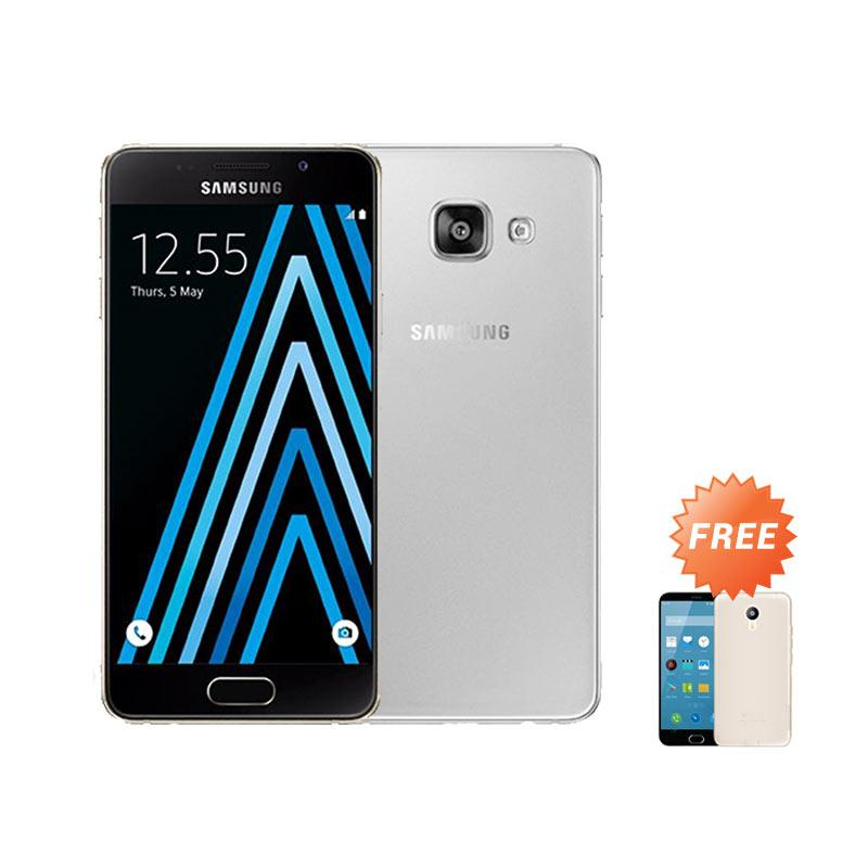Ultrathin Aircase Casing for Samsung Galaxy A3 2016 SM-A310F - Clear + Free Ultra Thin Casing