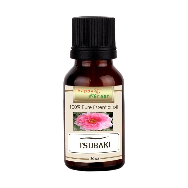 Happy Green Cosmetic Grade Camellia Seed Oil Minyak Tsubaki [10 mL]