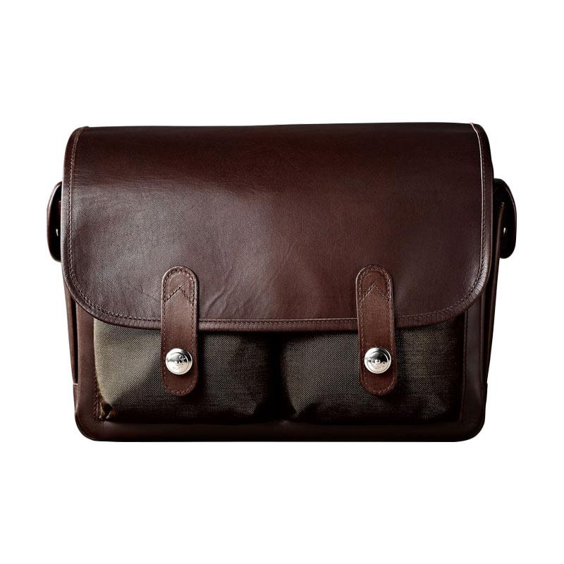 harga Oberwerth Heidelberg Shoulder Bag Olive Cow Tas Kamera - Brown Blibli.com