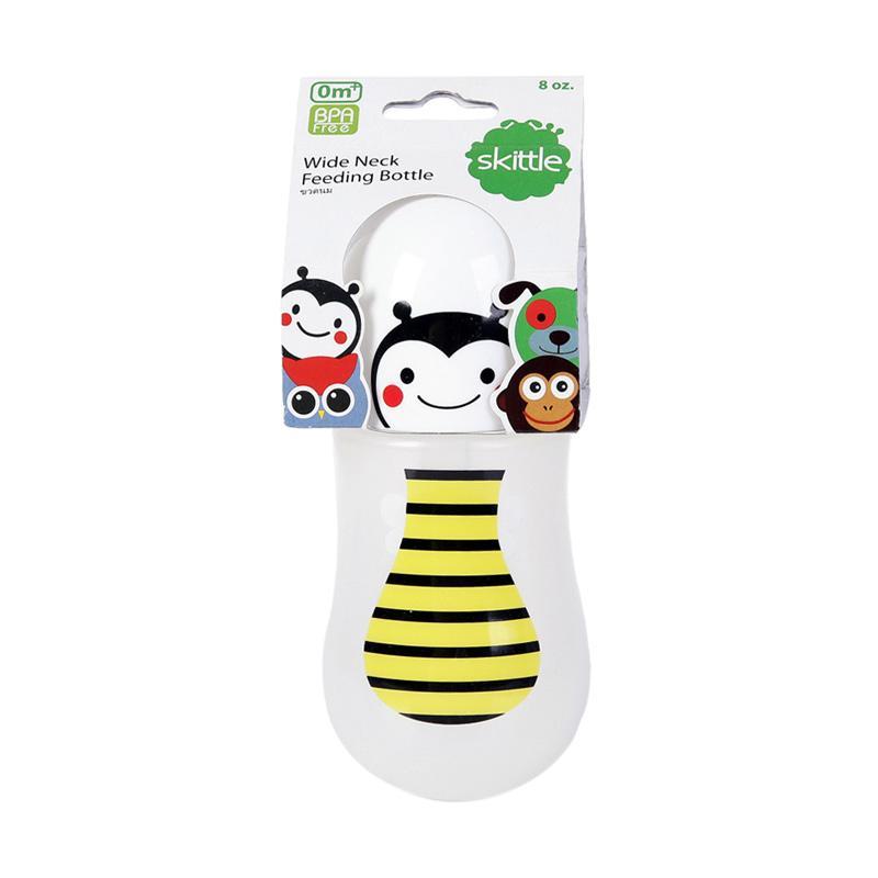 Chloe Babyshop Skittle Bee S195 Botol Susu - Yellow [8 oz/240 mL]