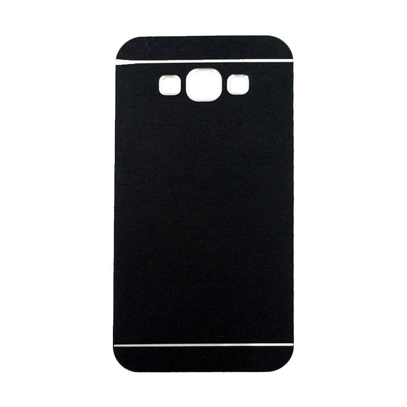 Motomo Metal Hardcase Backcase Casing for Samsung Galaxy J5 J500F - Black