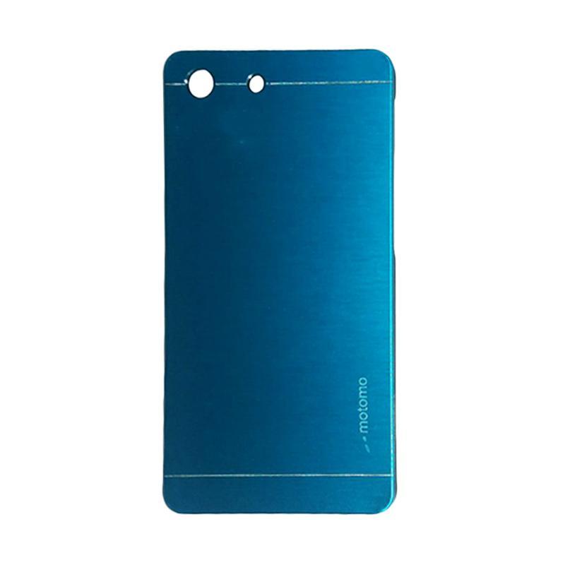 Motomo Metal Hardcase Backcase Casing for Sony Xperia M5 - Sky Blue
