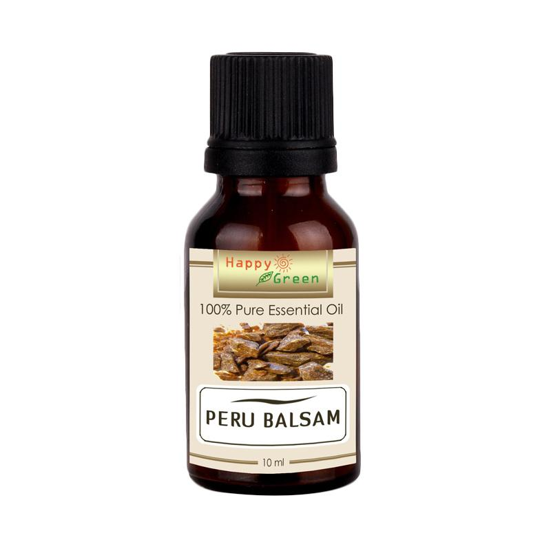 Happy Green Peru Balsam Essential Oil Minyak Balsam Peru [10 mL]