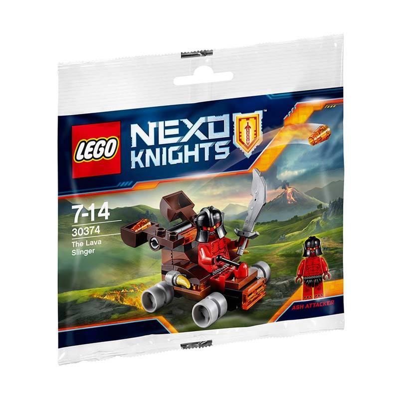 LEGO Nexo Knights 30374 The Lava Slinger Mainan Blocks dan Stacking Toys