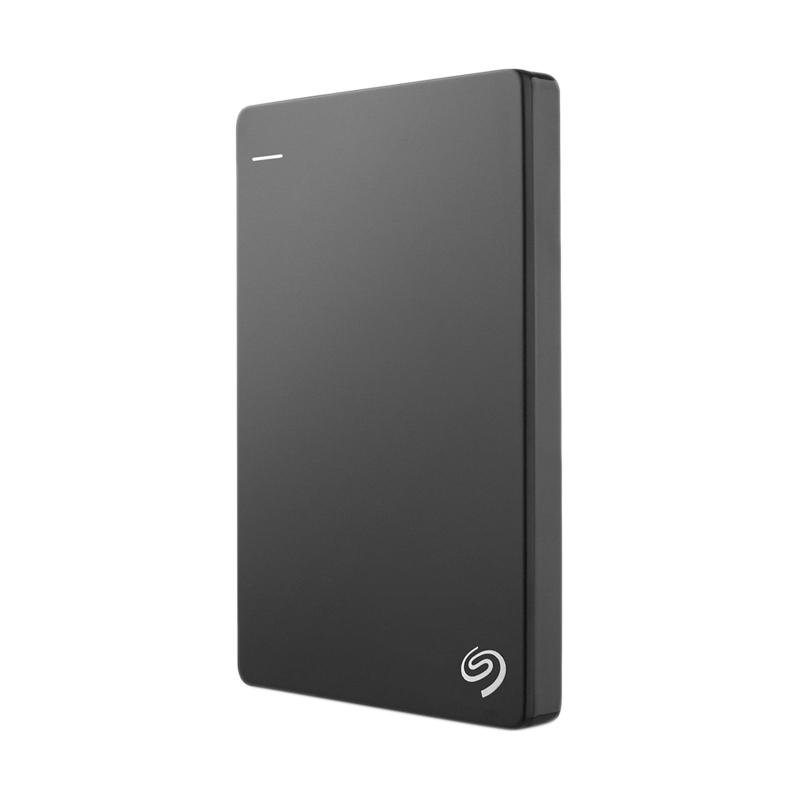 Seagate Backup Plus Slim Portable Hard Disk Eksternal - Black [1 TB/ USB 3.0]