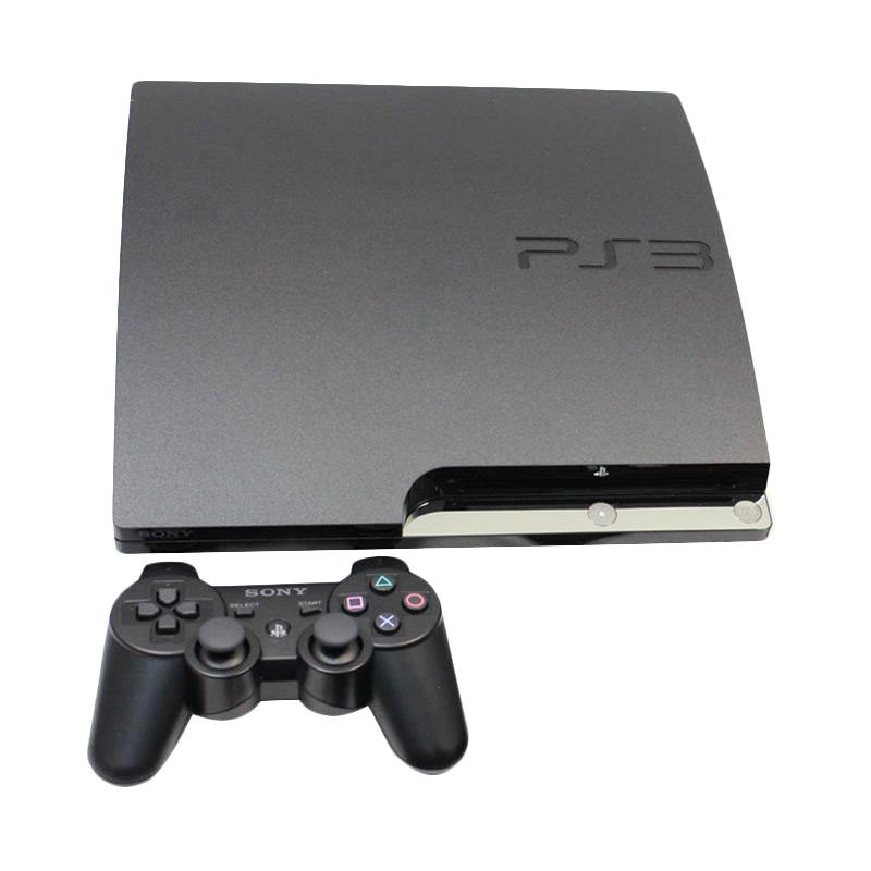 SONY PS3 Slim with 1 Stick Wireless [ HDD 500GB Full Games ]