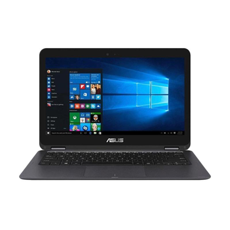 Asus Zenbook Flip UX360UAK-DQ239T Notebook - Black [13 Inch/i7-7500U/16GB/Graphics620/Win10]