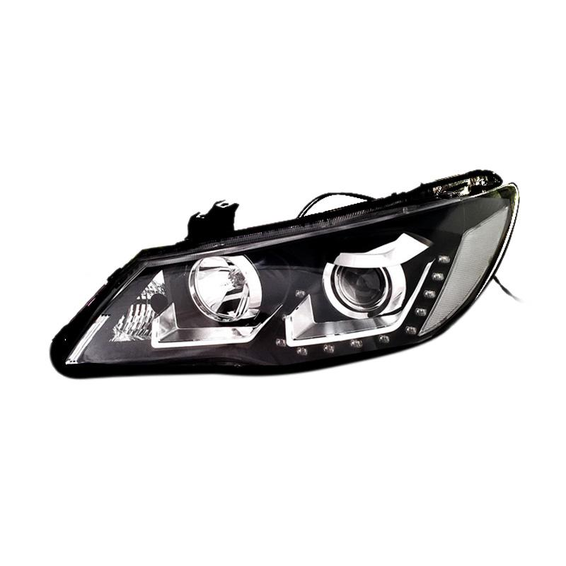 harga Eagle Eyes Projector VW Style V3 Head Lamp for Honda Civic 2006-2009 - Black Blibli.com