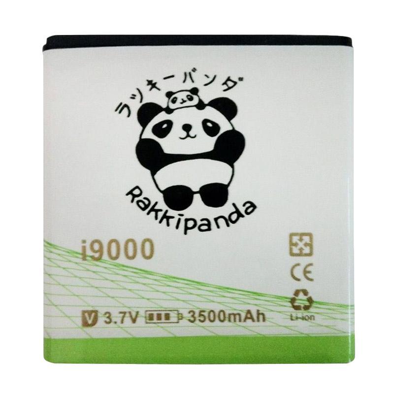 RAKKIPANDA Double Power IC Battery for Samsung Galaxy S1 i9000