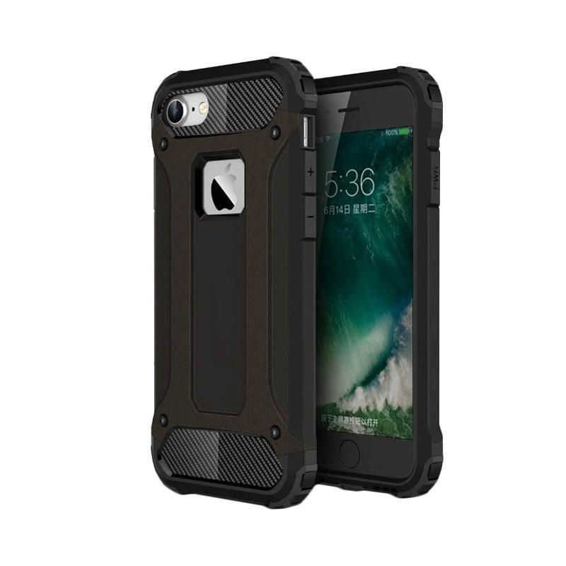 Spigen Transformers Iron Robot Hardcase Casing for iPhone 4 - Black