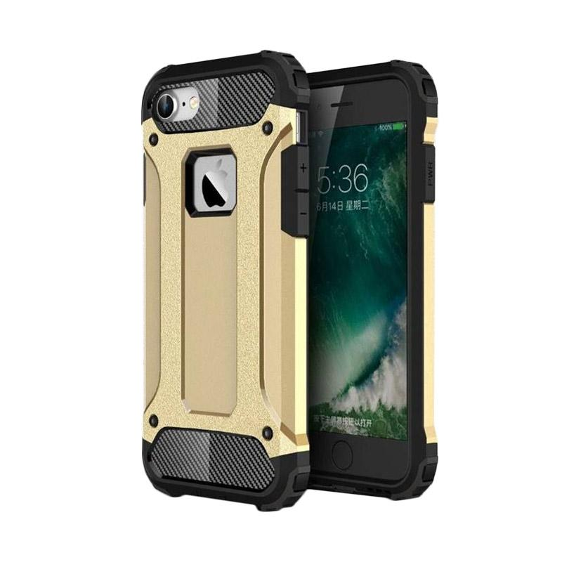 Spigen Transformers Iron Robot Hardcase Casing for iPhone 4 - Gold