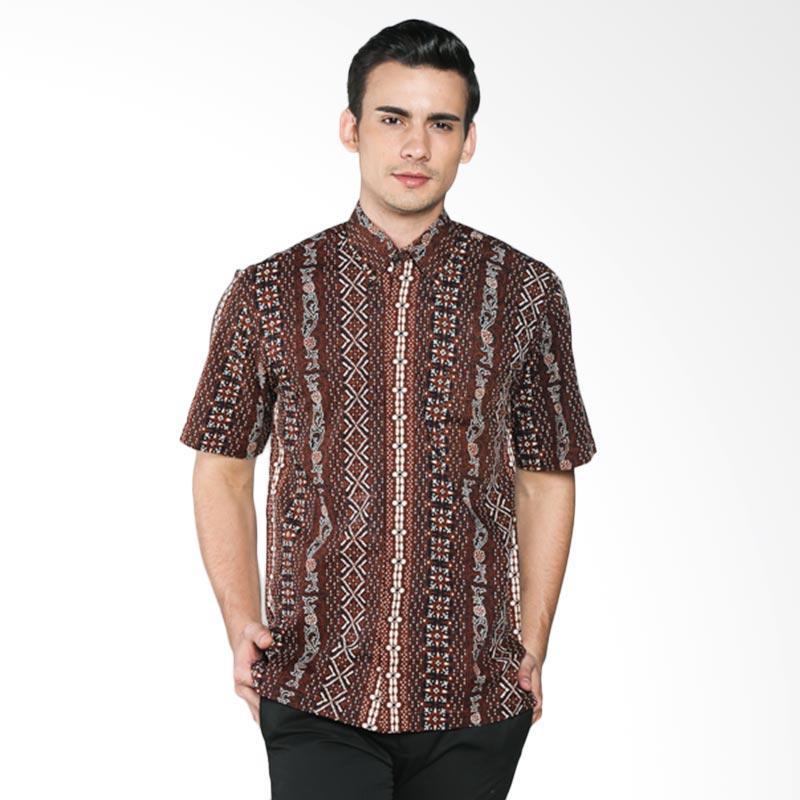 Batik Pria Tampan Lajur Sekawan PKMPD-04081666P Men Shirt - Teak