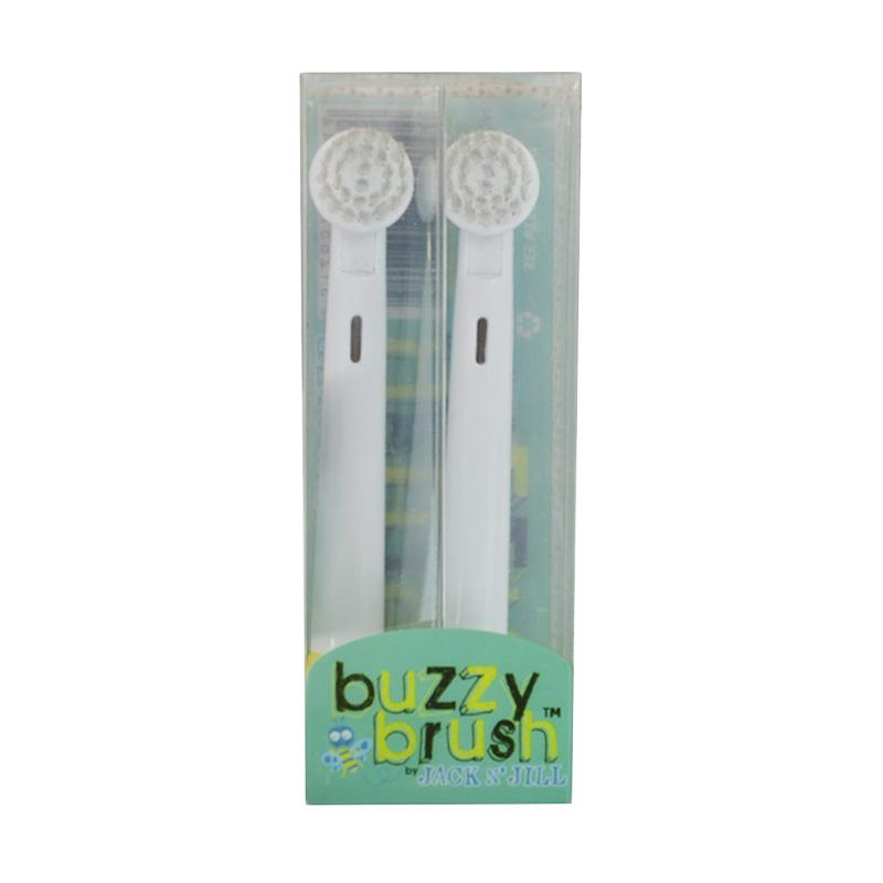 Jack N' Jill Buzzy Brush Electric Toothbrush Replacement Head [2 pcs]