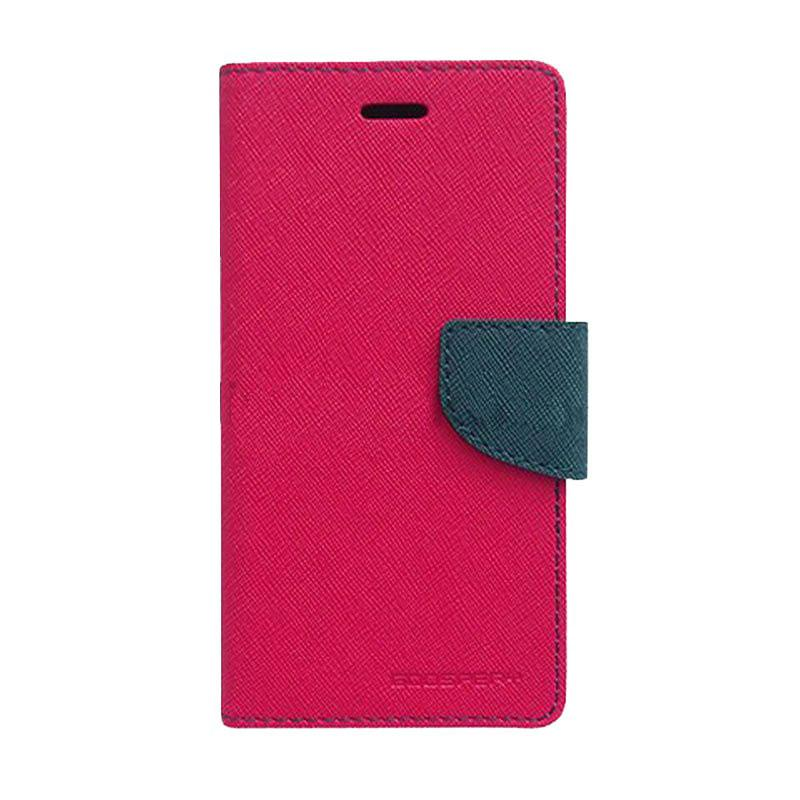 Mercury Fancy Diary Casing for Samsung Galaxy Grand 2 G7106 - Magenta Biru Laut