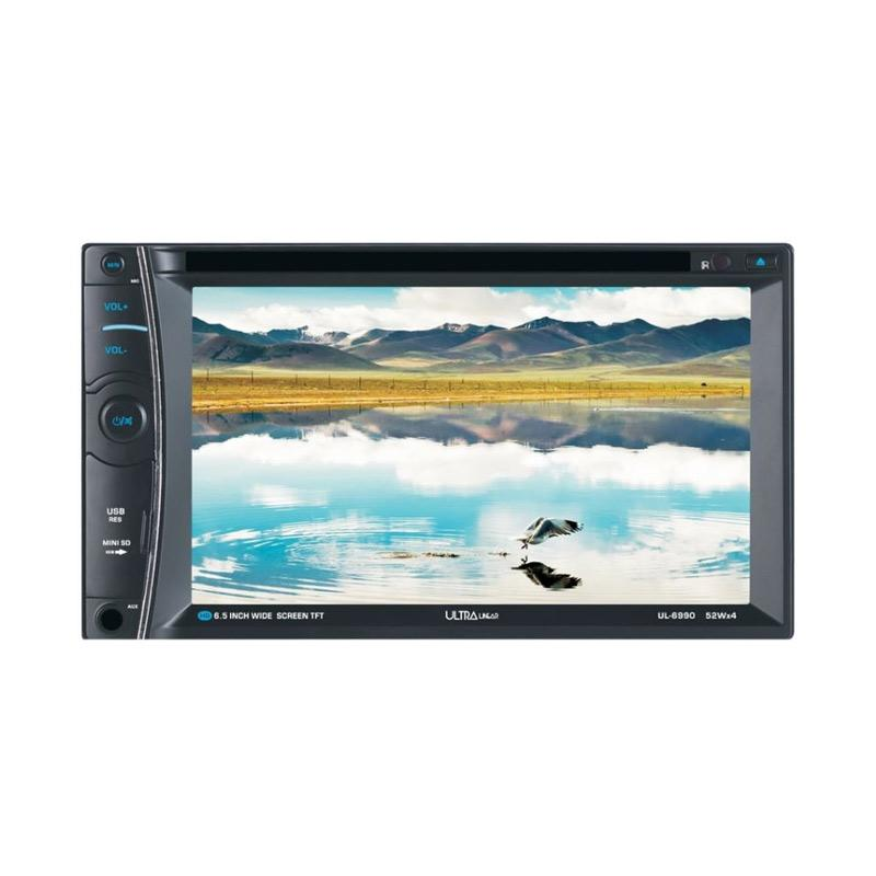 harga Ultra Linear UL-6990 Double Din DVD-TV Monitor Touch Screen [6.5 Inch] Blibli.com