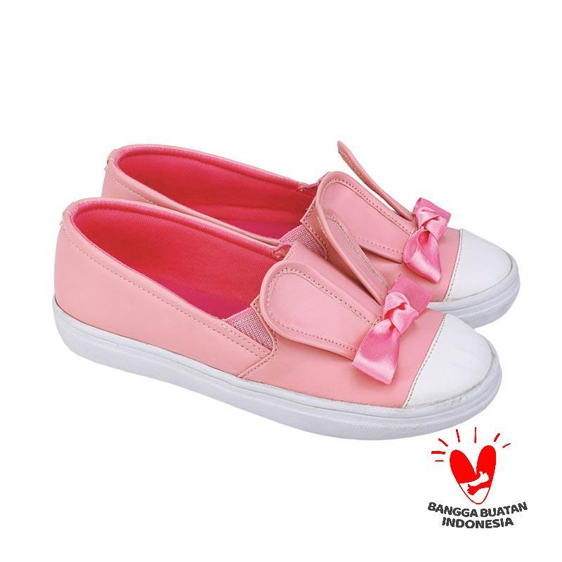 Catenzo Junior CJR CRL 066 Sepatu Slip On Anak Perempuan