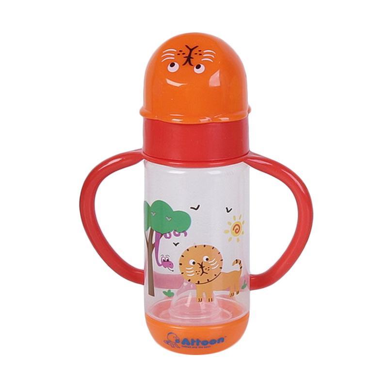 Chloebaby Shop Animal S199 Botol Susu with Handle - Orange [150 mL]