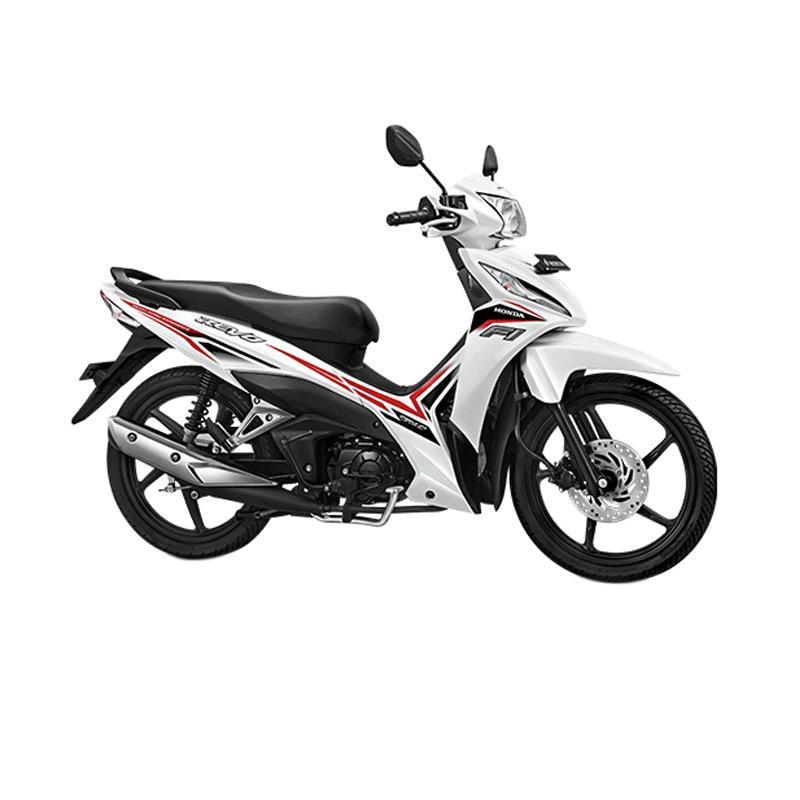 harga Honda New Revo FI 110 CW Sepeda Motor - Cosmic White [OTR Sumatera Utara] Blibli.com