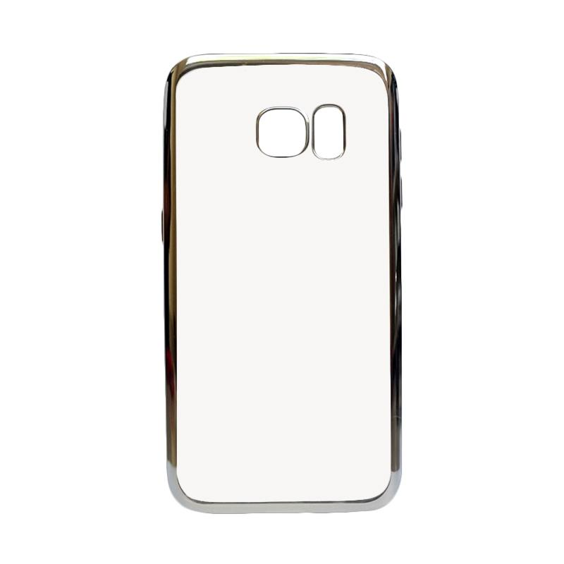 IPHORIA Ultrathin Shining Casing for Samsung S7 Flat G930 - Silver