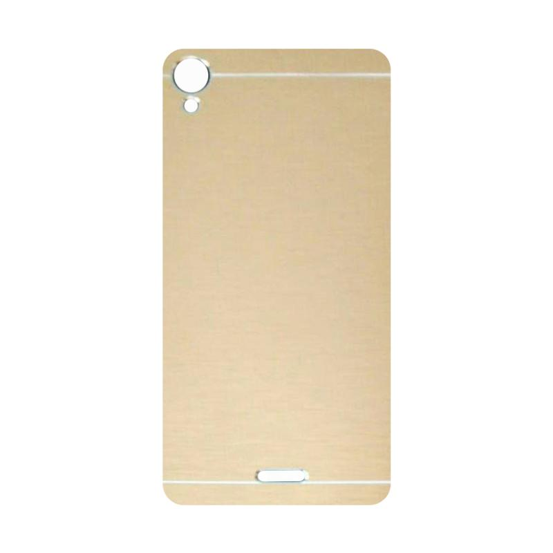 Motomo Metal Hardcase Backcase Casing for Infinix Hot Note X551 - Gold