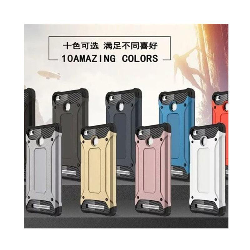 OEM Transformers Iron Robot Hardcase Casing for Xiaomi Redmi 3S - Blue