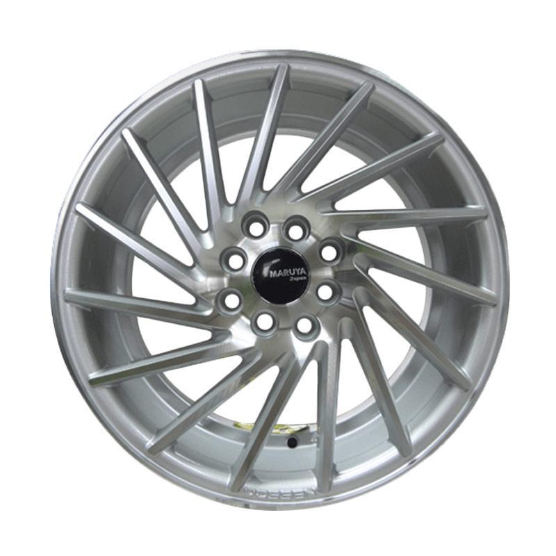 harga Replika Maruya RH/LH 1143 Velg Mobil - Silver Full Polish [R16 x 7.0 Et40 8Hx100/114.3] Blibli.com