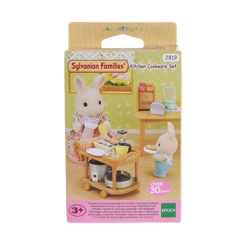Sylvanian Families Kitchen Cookware Set Mainan Anak