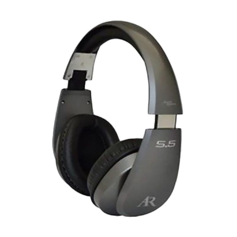 Acoustic Research S5 Premium Over Ear Headphones - Grey