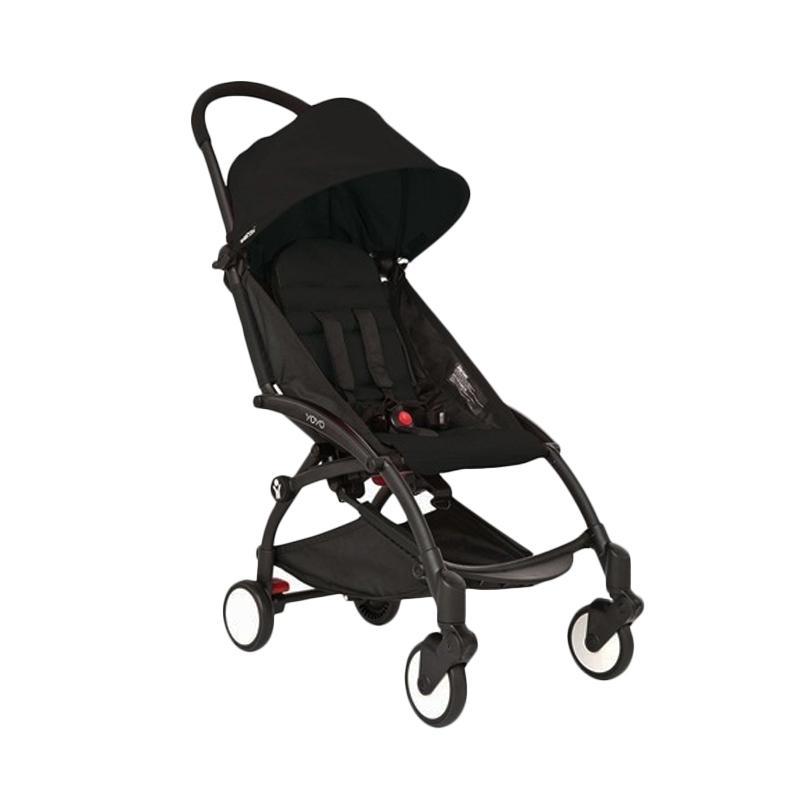 Babyzen Yoyo Baby Stroller - Black Frame Black [Complete Set]