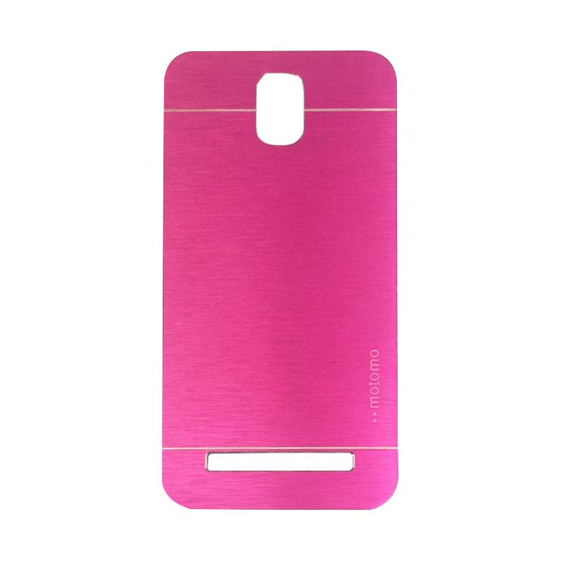 Motomo Metal Backcase Hardcase Casing for Asus Zenfone C ZC451CG - Pink