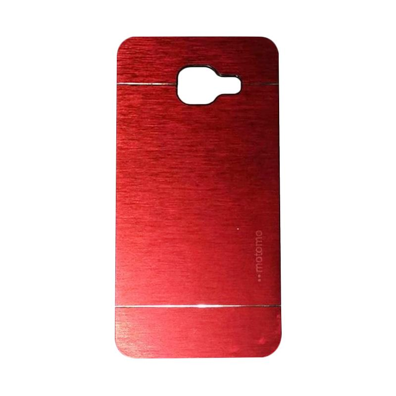 Motomo Metal Hardcase Backcase Casing for Samsung Galaxy A310 or A3 2016 - Red