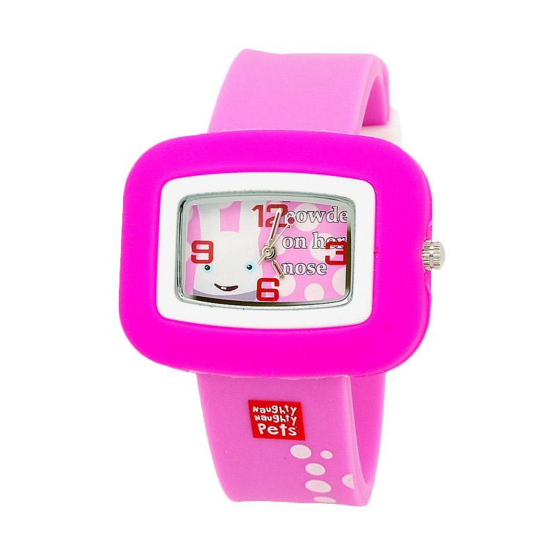 Naughty Naughty Pets NNP-83B Jam Tangan Anak - Pink