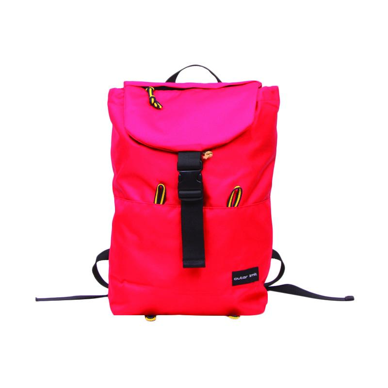 Outer Limit Sport Backpack BBP.18 Tas Ransel - Red & Black Codura