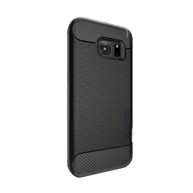 Tunedesign Slim Armor Casing for Samsung Galaxy S7 Edge - Black