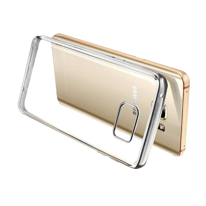 Ultrathin List Chrome Casing for Samsung Galaxy A3 2016 - Silver