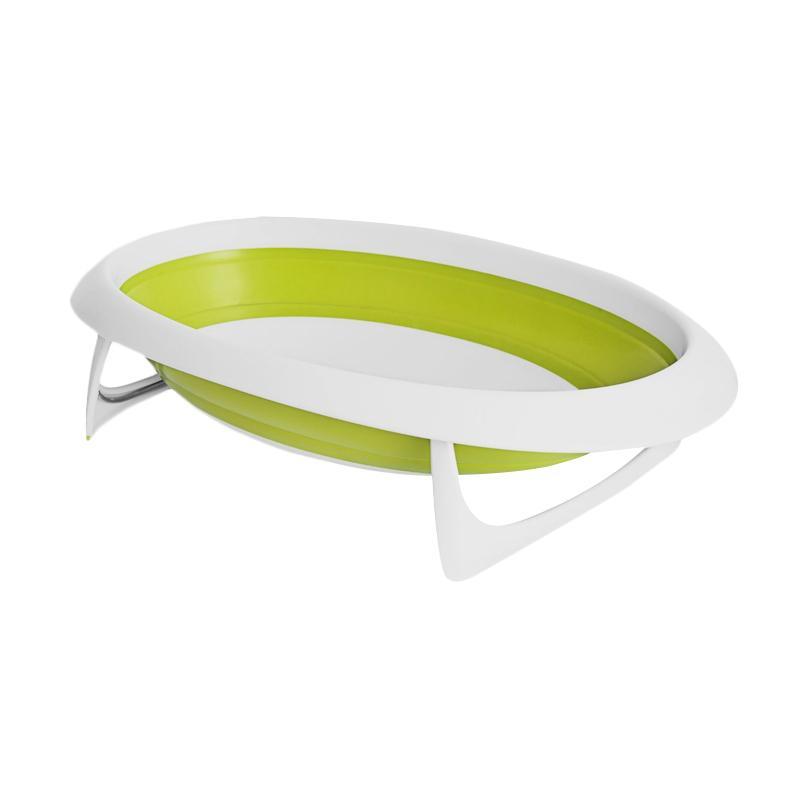 Boon 612 Naked Collapsible Bathtub Bak Mandi Bayi - Green White