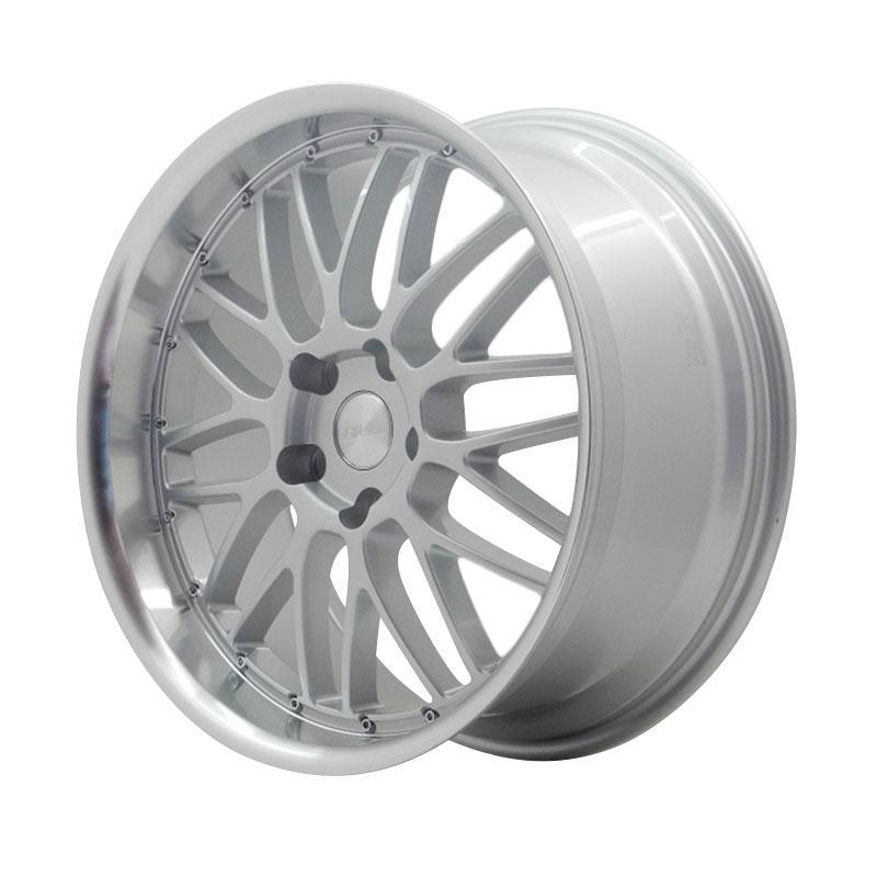 harga HSR Wheel Deli JZ1099 Silver Machine Lip Velg Mobil [Ring 19x8/9 H5x120 ET40] Blibli.com