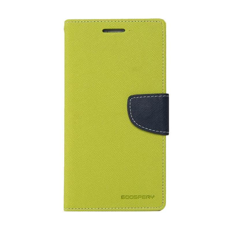 Mercury Fancy Diary Casing for Asus Zenfone 5 A500 - Mint Biru Laut